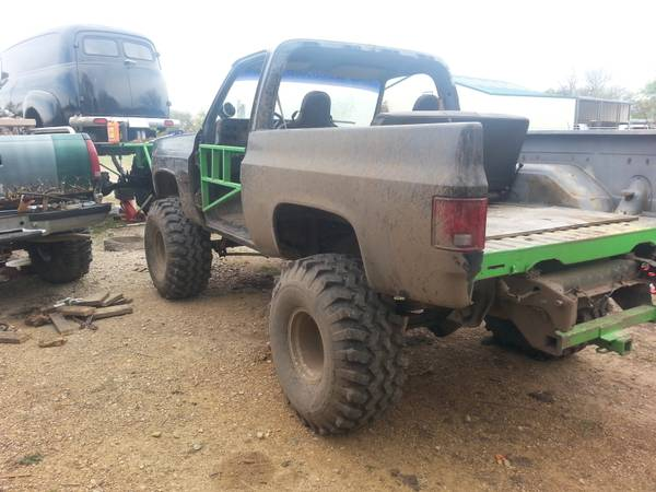 chevy mud truck for sale